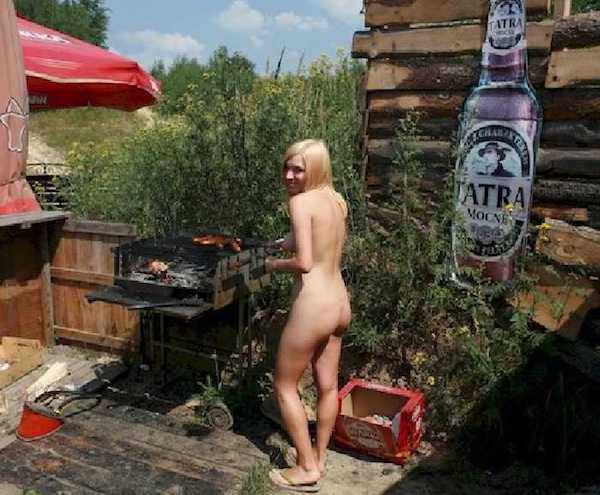 Girls and steaks and meat and bbq