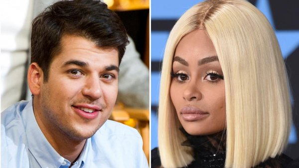 Rob Kardashian makes rare appearance with daughter dream at family Christmas party