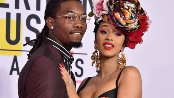 Cardi B says she and husband Offset are 'not together anymore'