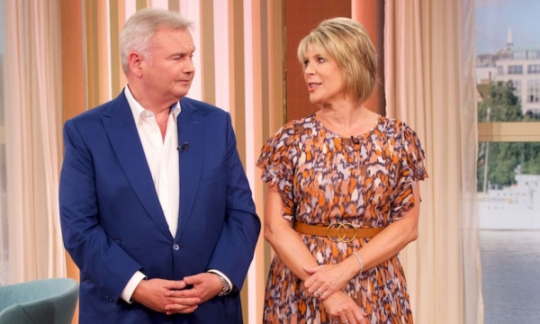 Eamonn Holmes admits he and wife Ruth Langsford haven't been spending much time together