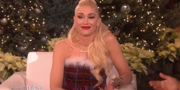 Gwen Stefani is moved to tears after Ellen DeGeneres tells her 'she deserves everything she has'