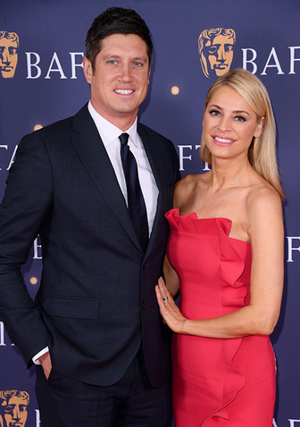 Tess Daly and Vernon Kay make rare appearance at BAFTA gala