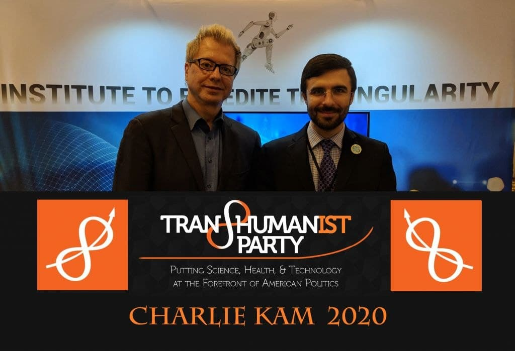 U.S. Transhumanist Party Supports Stem Cell Research Institute Bond Initiative in the 2020 General Election